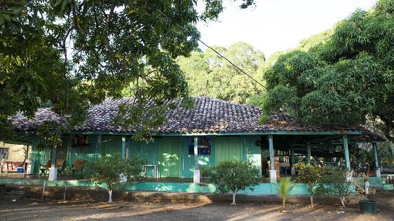 Casa antigua que data de 100 años, actualmente es el restaurante